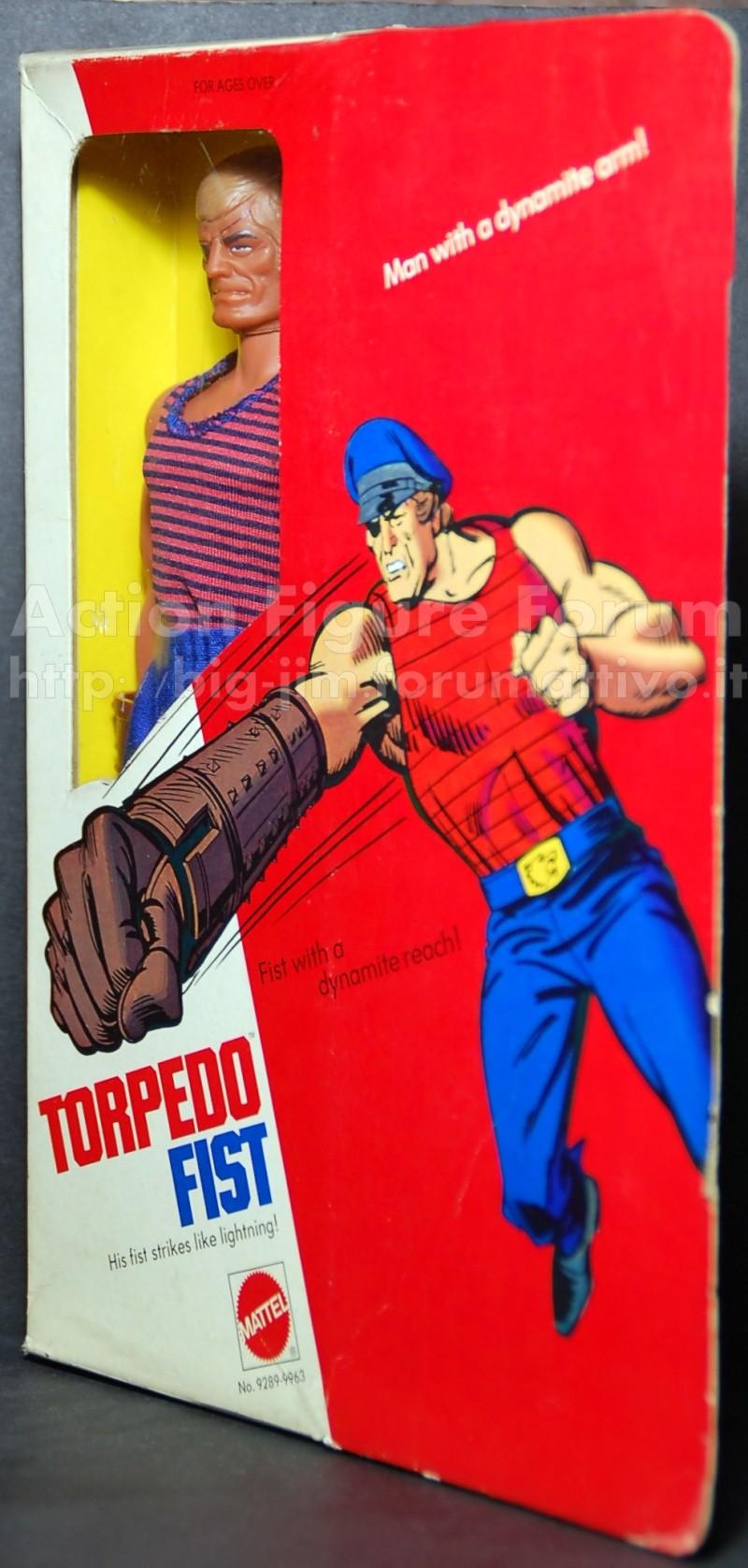 "TORPEDO FIST "" Man with a dynamite arm"" No. 9289 /9963 Torped11"