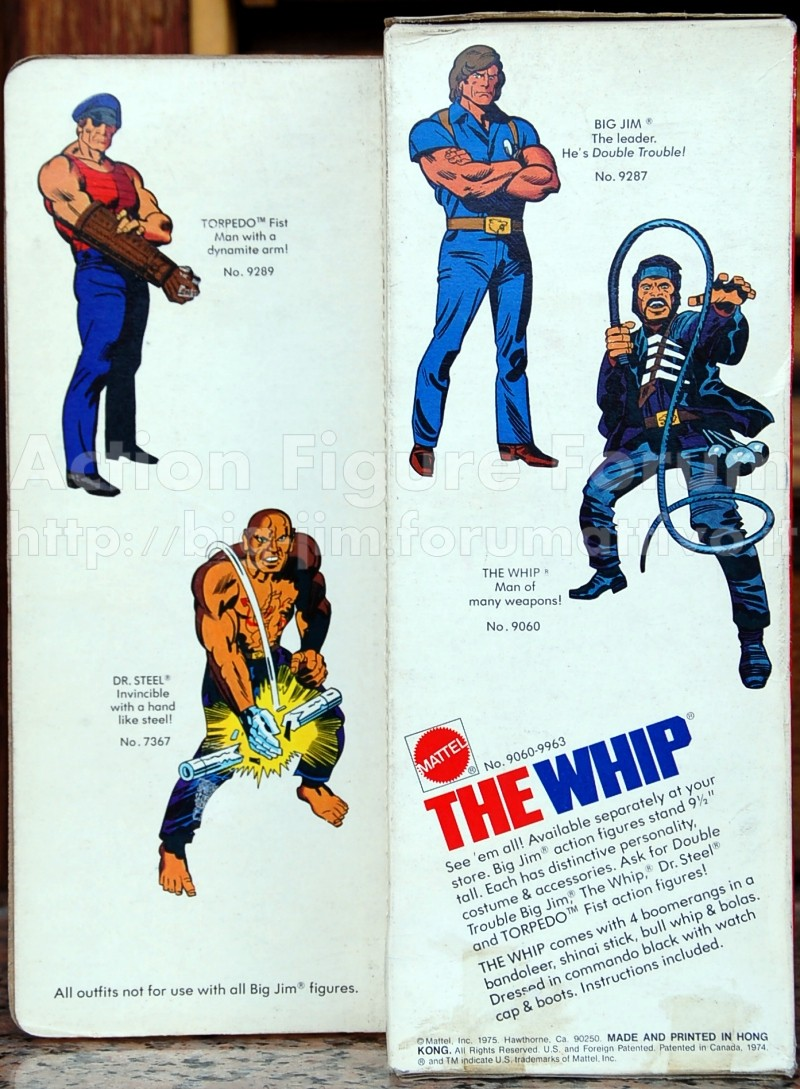 "THE WHIP ""Man of many wapons"" No. 9060 - 9963 Whip-310"