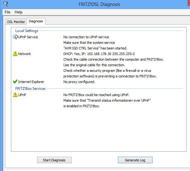 [RISOLTO] Impossibile installare fritz box remote connection: problema net framework Fritz13