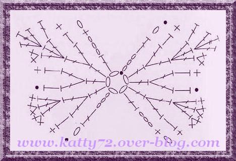 crochet de Cécilou Papill10