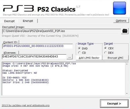[PS3] Créer des jeux PS2 Classic à partir d'ISO PS2 Captur11