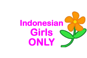 Indonesian Girls Only