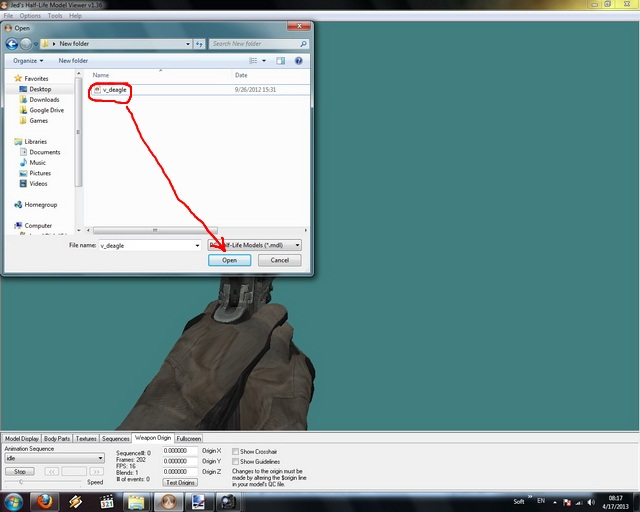 How to make iron sights skins - tutorial 118