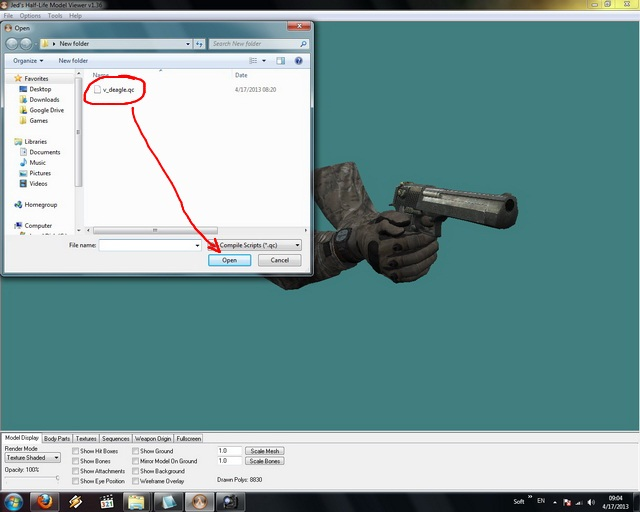 How to make iron sights skins - tutorial 212