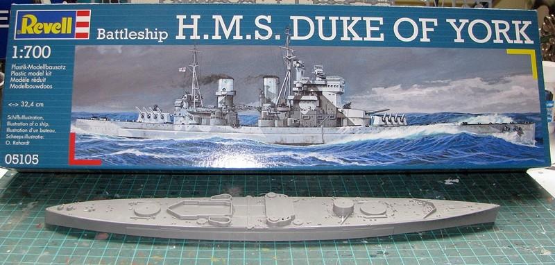 HMS Duke of York - Revell 1/700 Img_3729