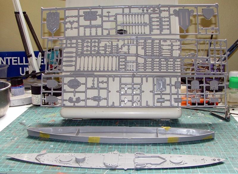HMS Duke of York - Revell 1/700 Img_3730