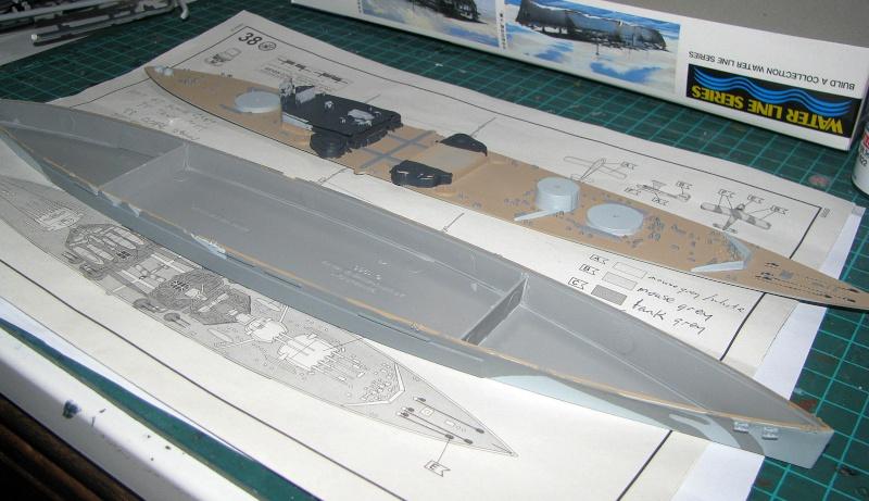 HMS Duke of York - Revell 1/700 Img_3731