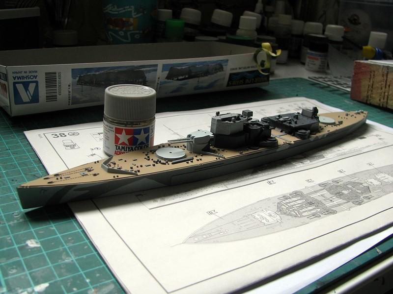 HMS Duke of York - Revell 1/700 Img_3732
