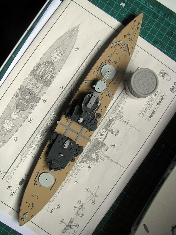 HMS Duke of York - Revell 1/700 Img_3733