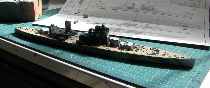 HMS Duke of York - Revell 1/700 Img_3752