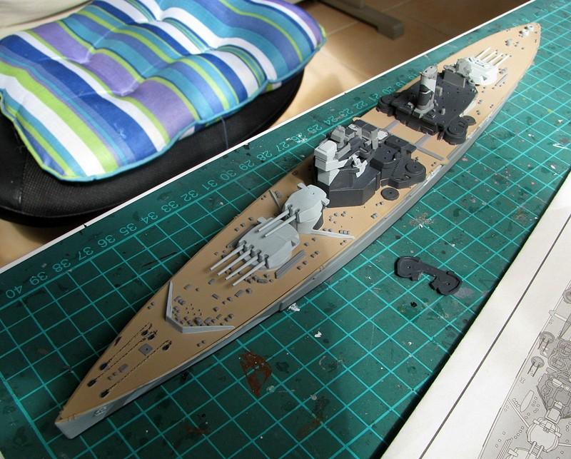 HMS Duke of York - Revell 1/700 Img_3754