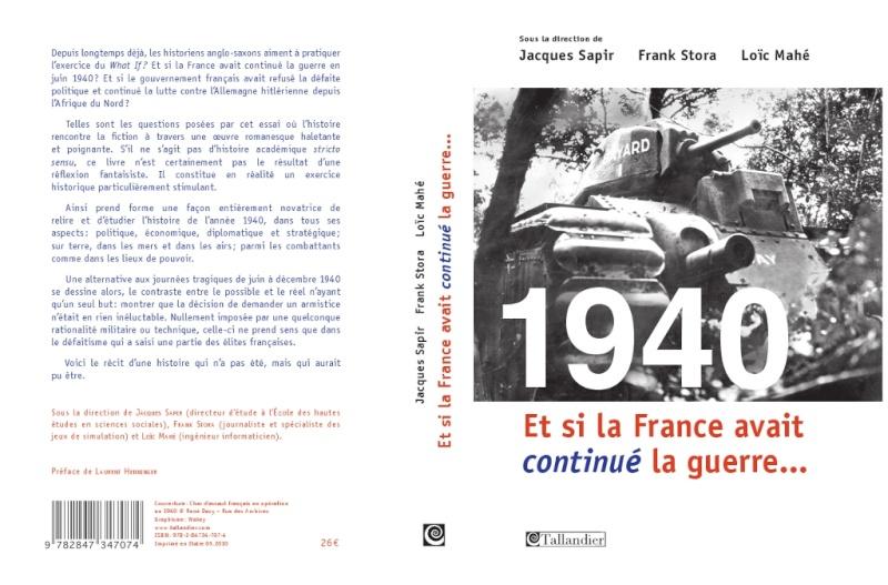 1940 : Et si la France avait continué la guerre [Uchronie] 194011