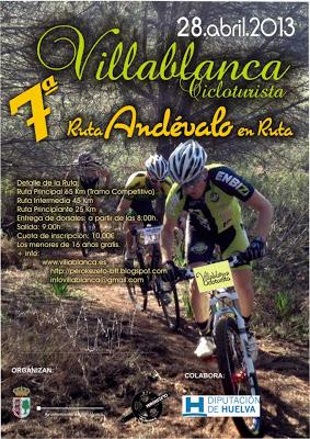 Cicloturista Villablanca 2013 (Abril) Cartel10