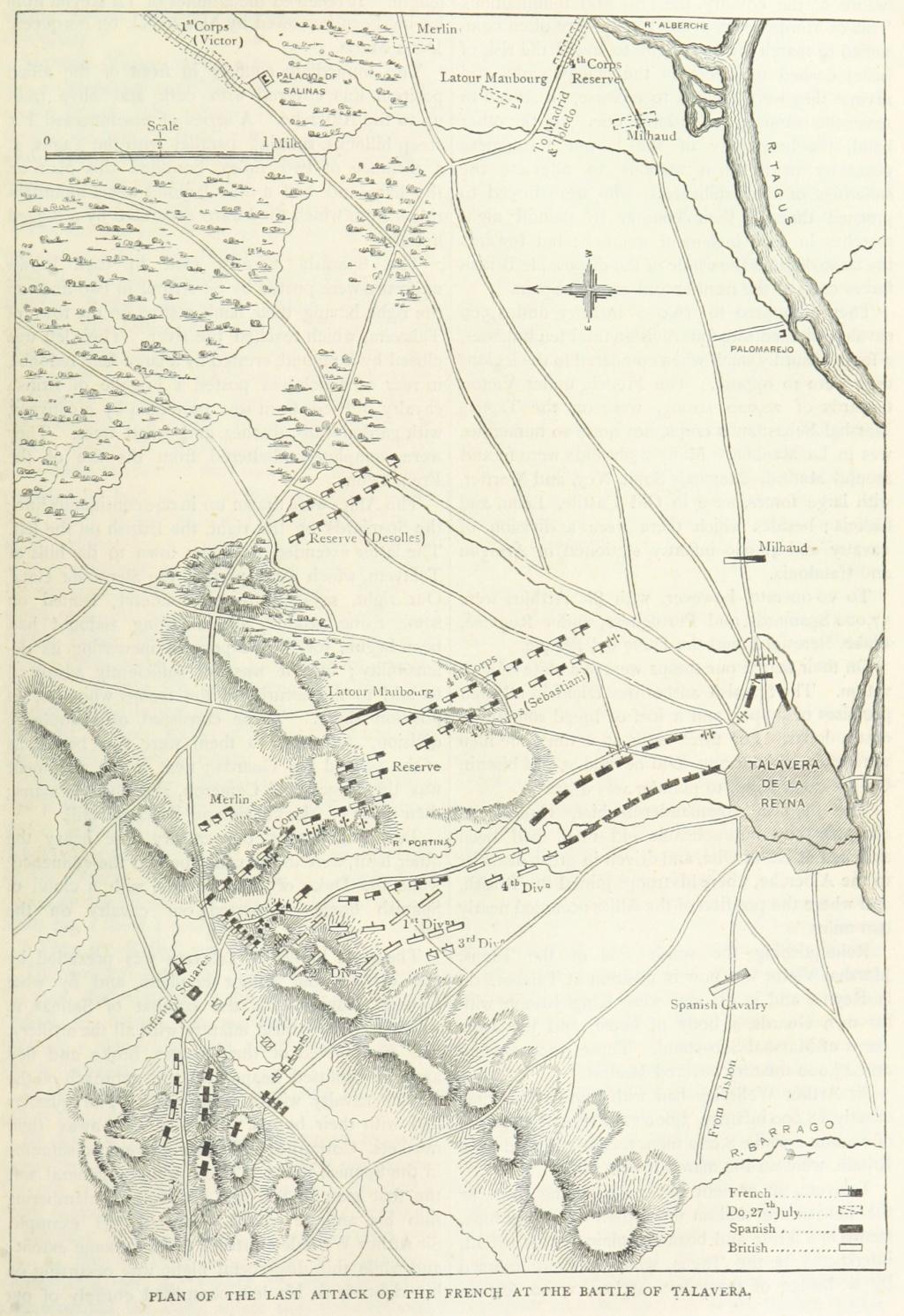 Gif sur Yvette, septembre 2019: Bataille de Talavera (secteur Sud) Talave10