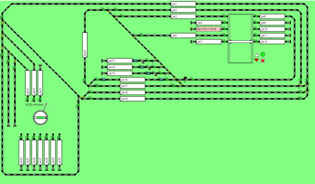Détection de cantons avec des 24994 Reseau10