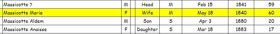 Infos sur la famille Michel Bertrand dit St-Arnaud 1901ge10