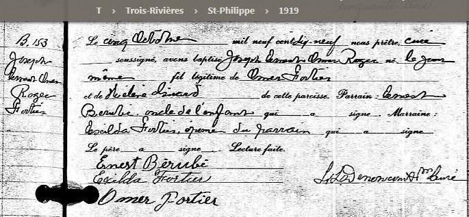 FORTIER Roger - Né 5 octobre 1919 Broger10