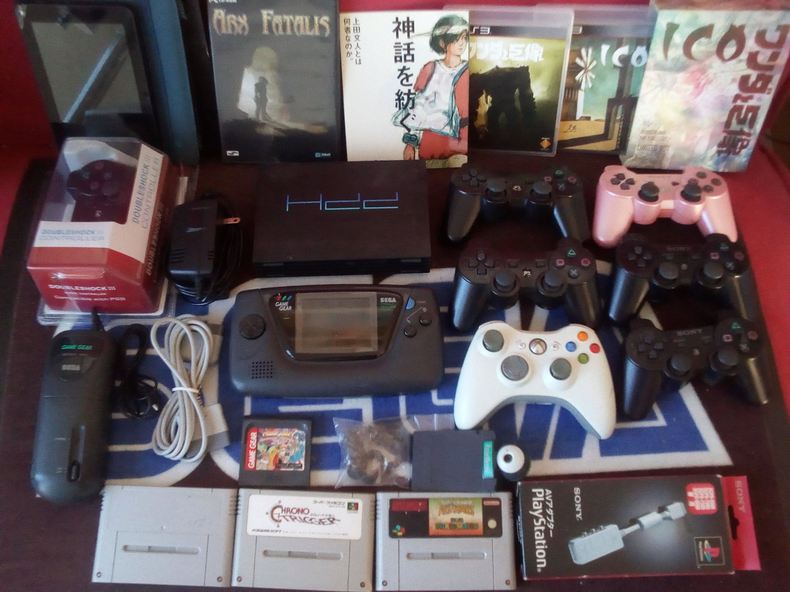 [VDS] Trucs jap, PSP, GG, PS3, SFC, Mark III, NEC, Goodies Sega jap etc Lot_ic10