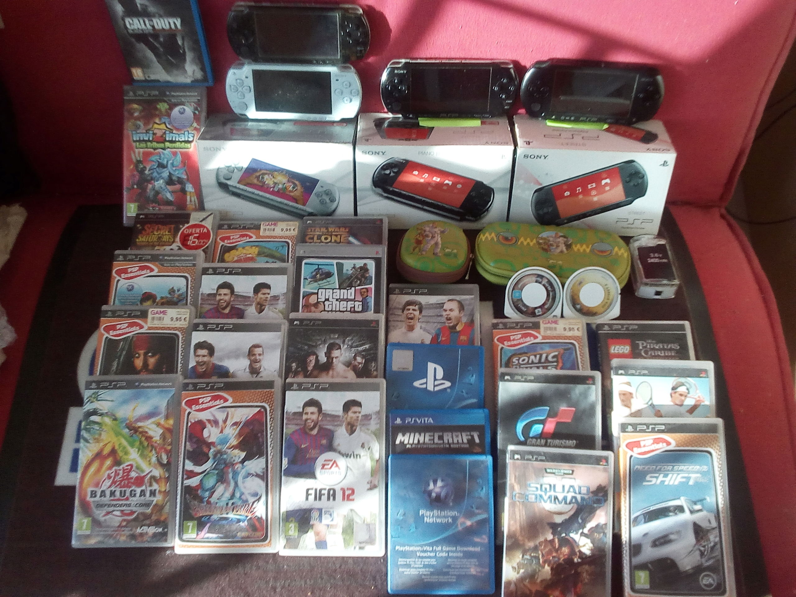 [VDS] Trucs jap, PSP, GG, PS3, SFC, Mark III, NEC, Goodies Sega jap etc Lot_ps10