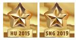Champion HU2015 et SNG2019