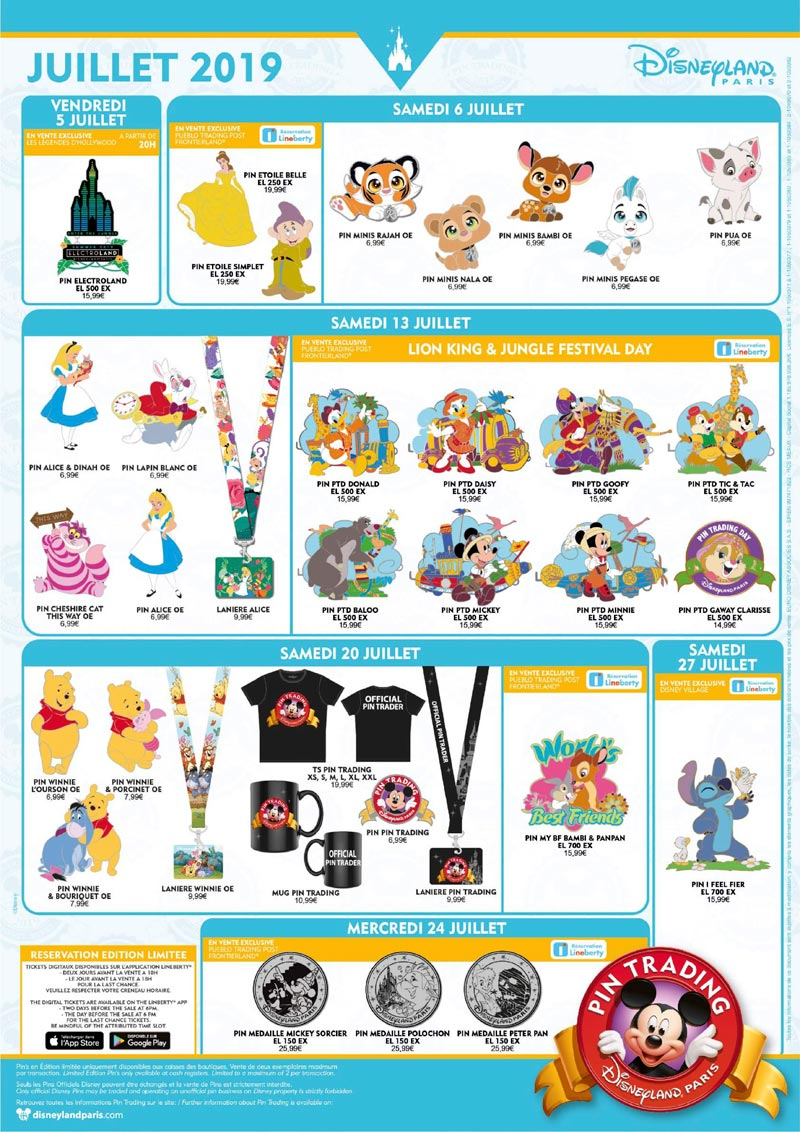 Le Pin Trading à Disneyland Paris - Page 42 Affich10