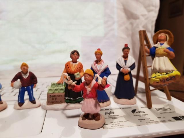 santons provençaux à peindre 20210113