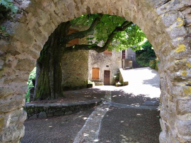 Occitanie - Sortie : Passerelle de Mazamet et ville de Hautpoul le jeudi 21  Img_2027