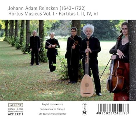 reincken - Buxtehude, Reincken - Musique de chambre 512ksf10