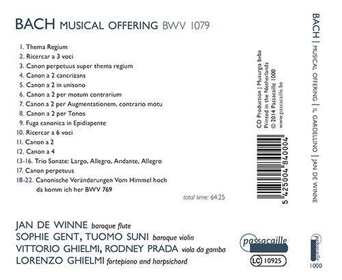 L'offrande musicale BWV 1079 51upg910
