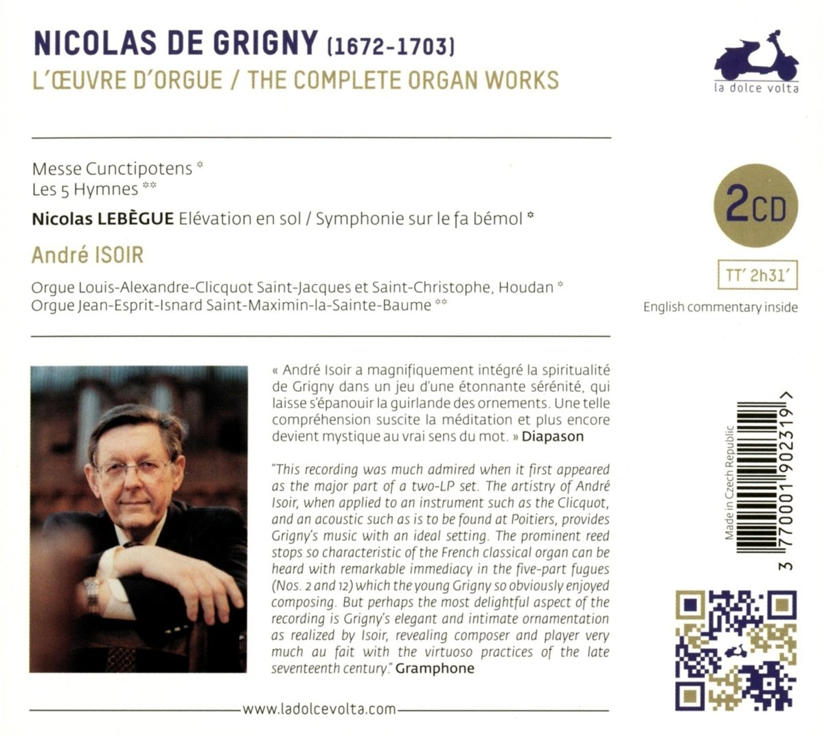 Nicolas de Grigny (1672 - 1703) 710qrq10
