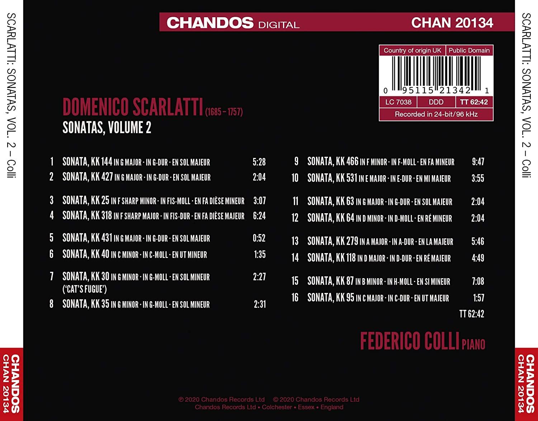 Domenico Scarlatti: discographie sélective - Page 6 711dxr10
