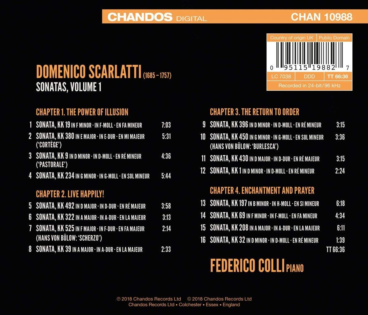 Domenico Scarlatti: discographie sélective - Page 5 711hsz10