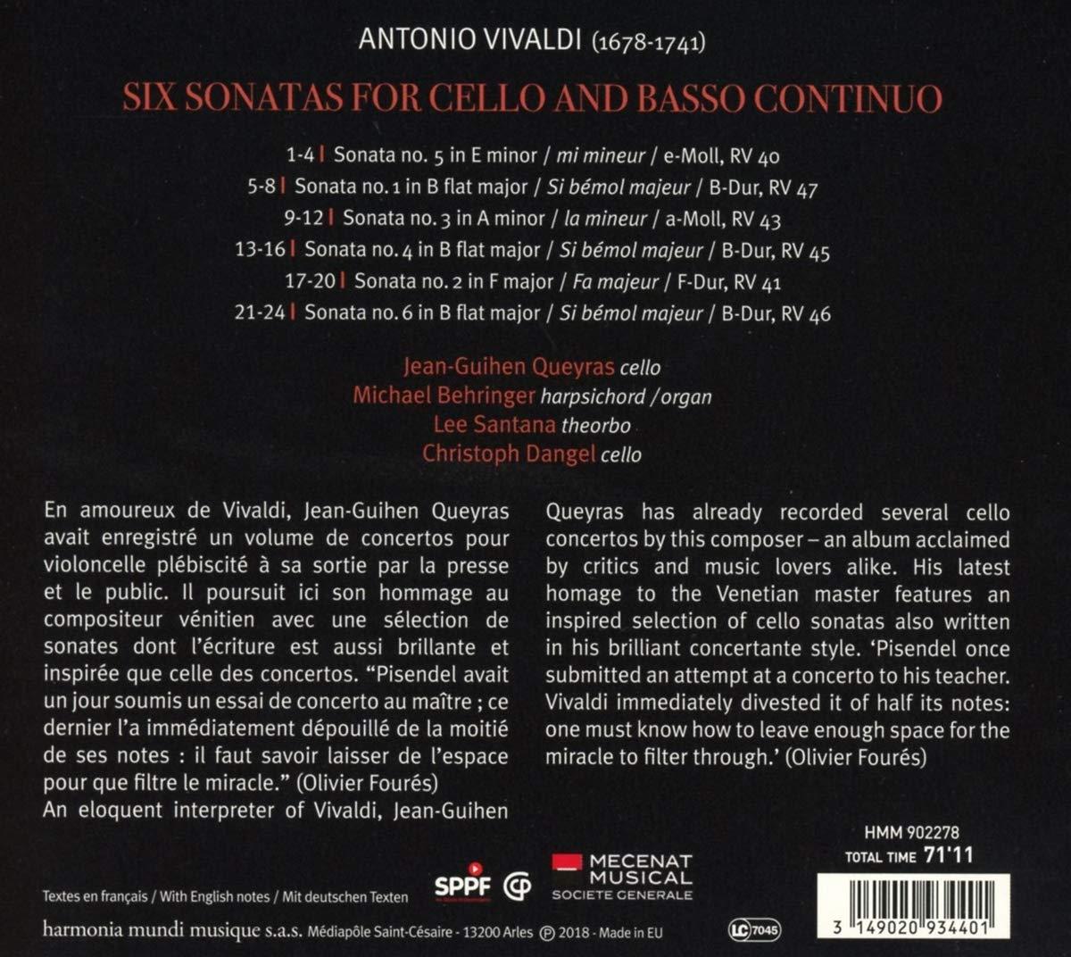 Vivaldi, oeuvres instrumentales (sauf concertos) 716xlo10