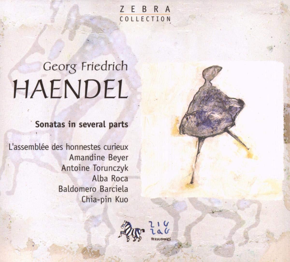 Haendel - Sonates en trio, ou instruments seuls et b.c. 71d1dz10