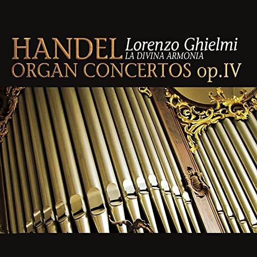 Haendel - Concertos pour orgue ou instruments seuls 81axfw10