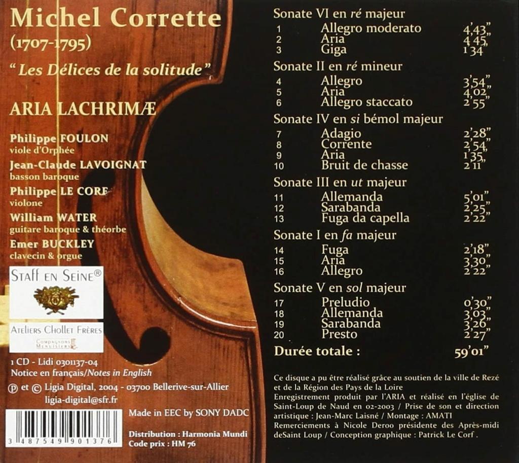 Michel Corrette 1707-1795 81c5g810