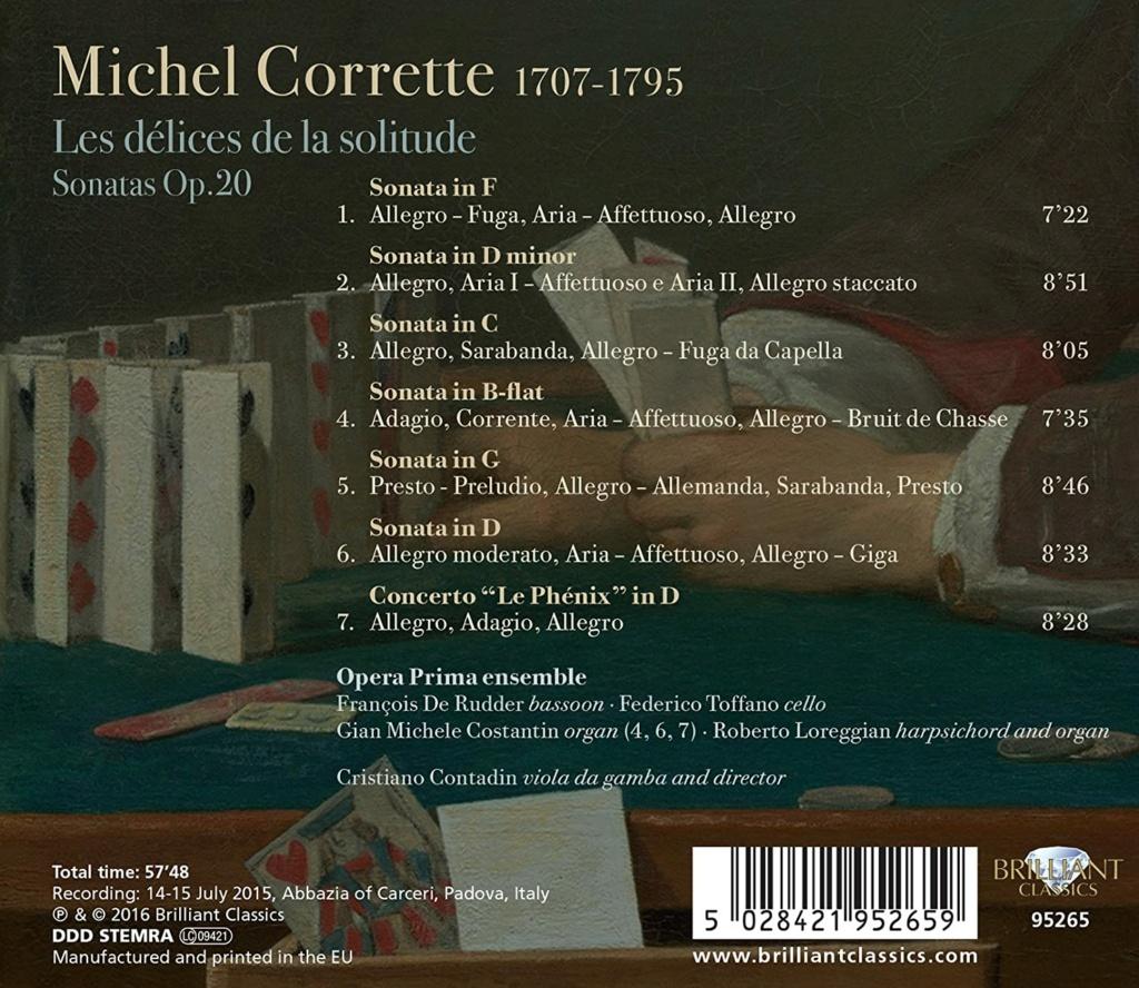 Michel Corrette 1707-1795 81c8v910