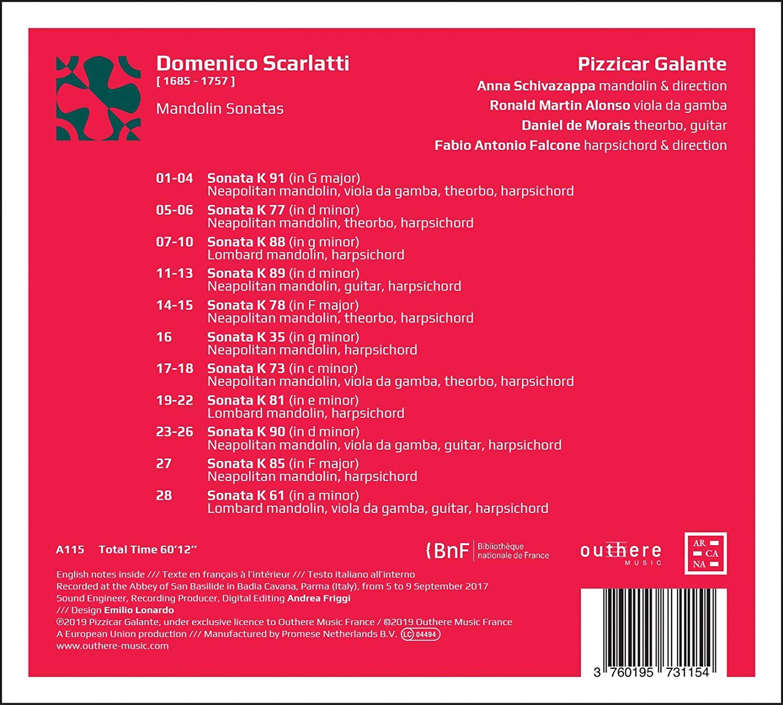 Domenico Scarlatti: discographie sélective - Page 6 81i8th10