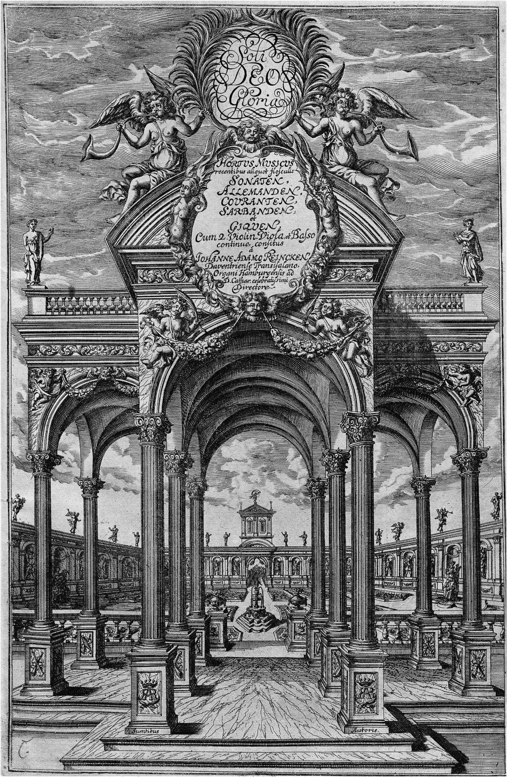 reincken - Buxtehude, Reincken - Musique de chambre Reinck10