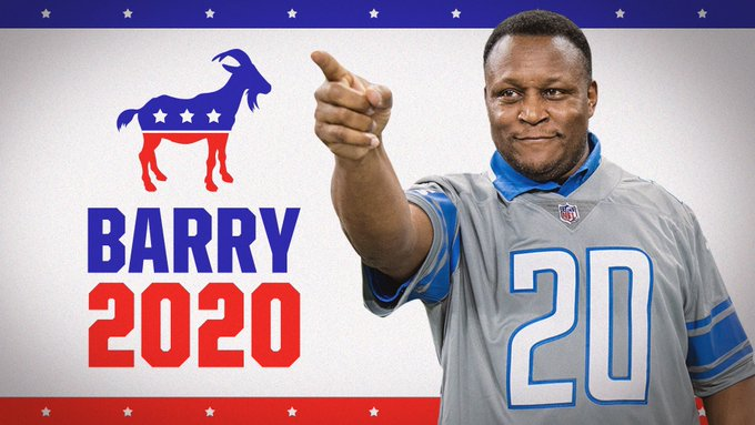 The 2020 Presidential campaign. Er4uv-10