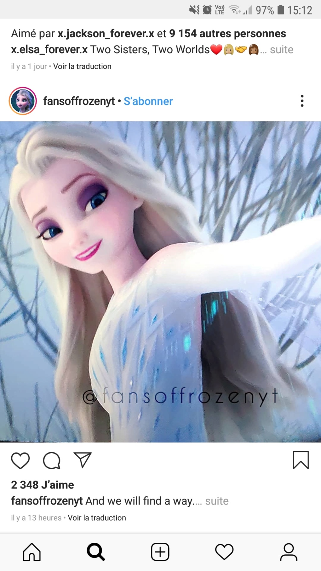 La Reine des Neiges II [Walt Disney - 2019] - Page 6 Screen17