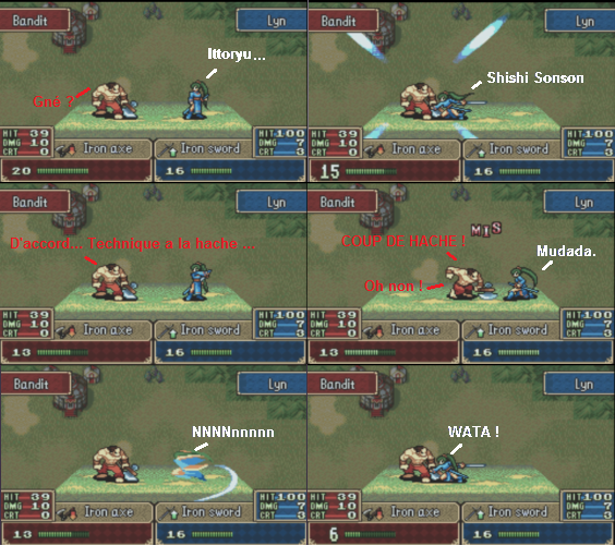 [Walkthrough] Blazing Sword 4110