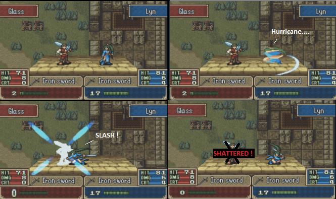 [Walkthrough] Blazing Sword 9511