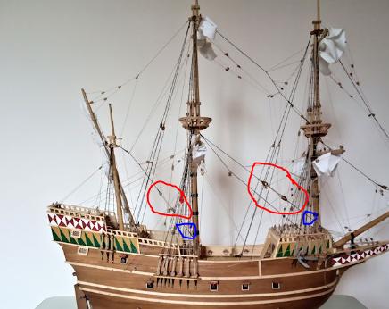 Ricostruisco la Mayflower 1adue11