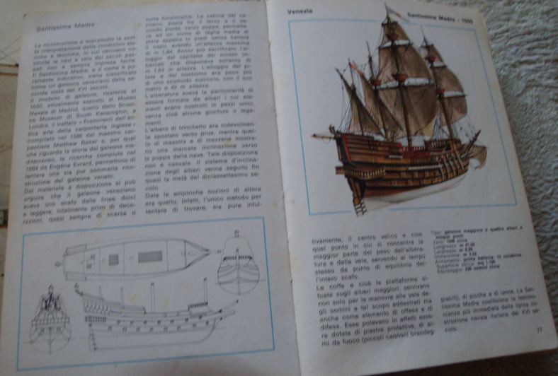San Matteo Galeone Genovese disegni V. Lusci Ssmadr10