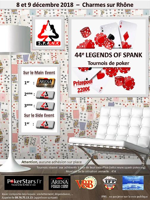 Legend Of Spank #44 Valence Affich12