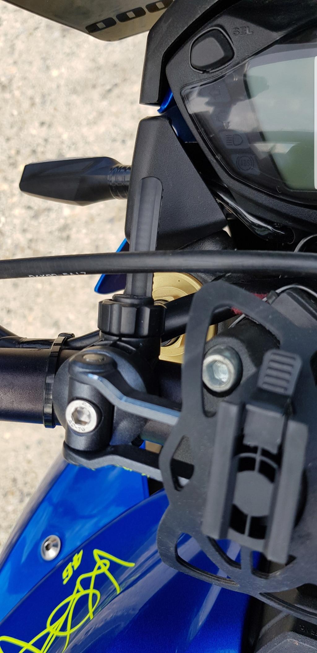 Support guidon top pour GPS et téléphone Screen11