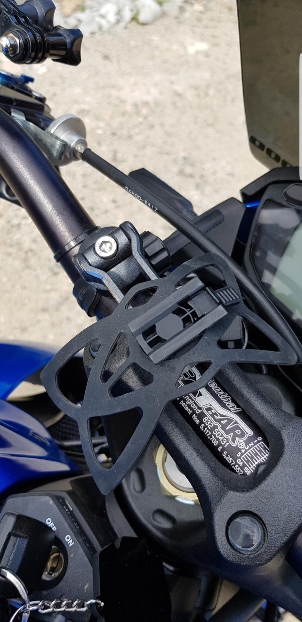 Support guidon top pour GPS et téléphone Screen12
