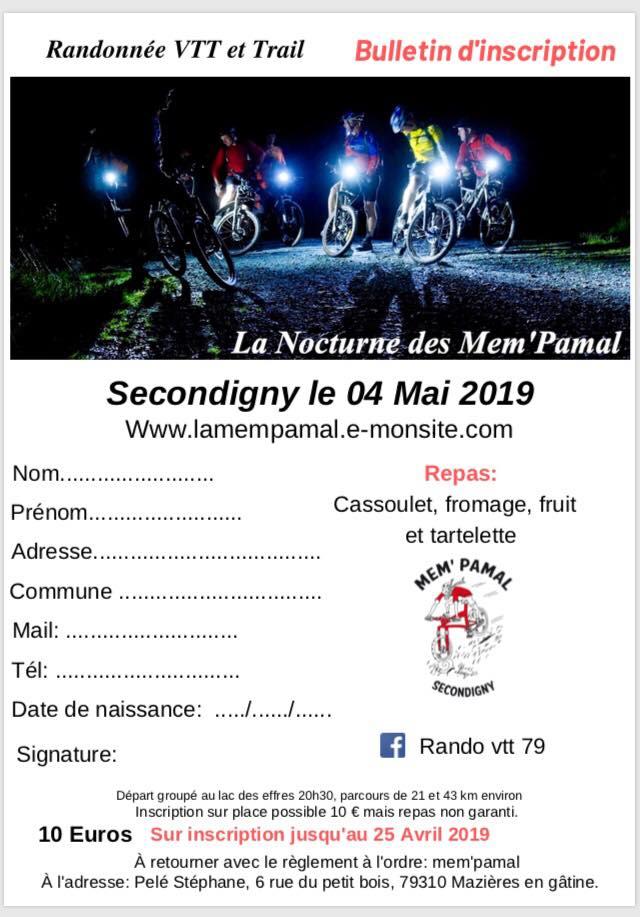 Nocturne Mem'pamal 04/05/2019 Secondigny 56931810