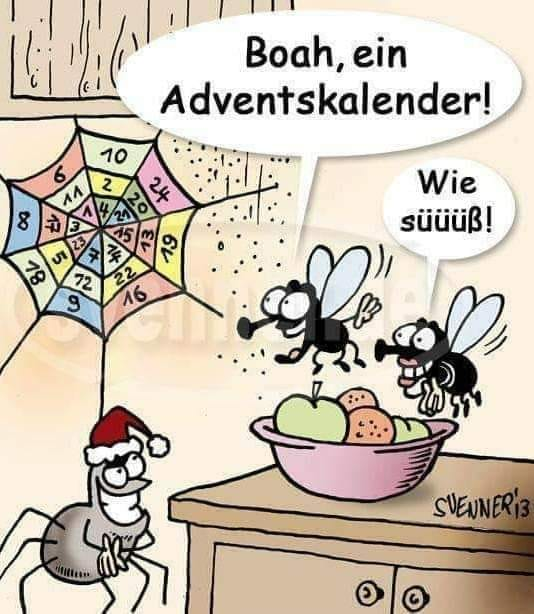 Lustige Bilder zum Weihnachtsfest Advent10